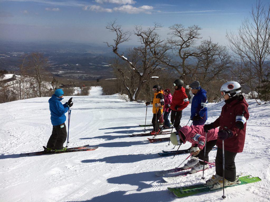 シニアスキー 中高年スキー